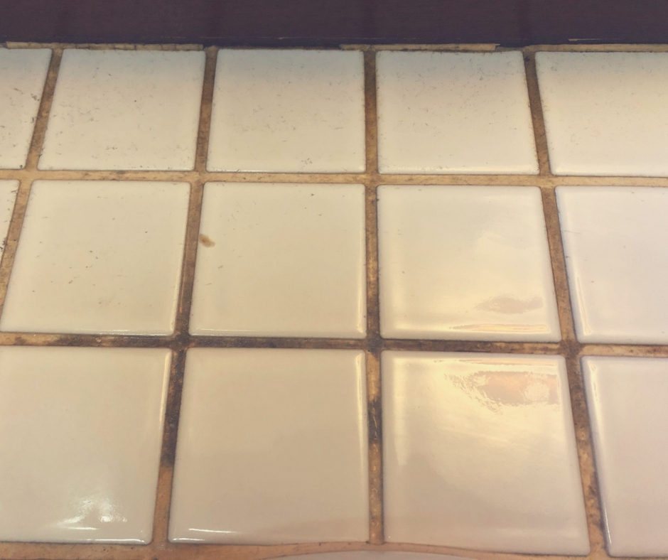 Starting Spring Steam Cleaning | Our tiles looking worse for wear, they need a good clean.