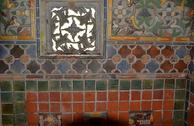 These Photos Only Show A Small Portion Of The Historic Tiles Collected And Used By Henry Mercer As Well He Designed Produced At