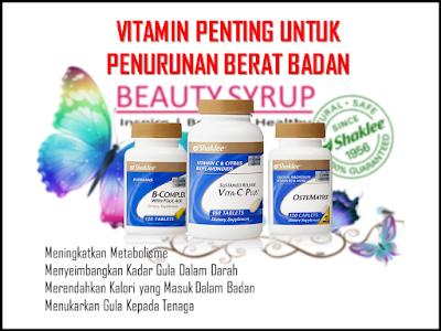 vitamin bantu penurunan berat badan