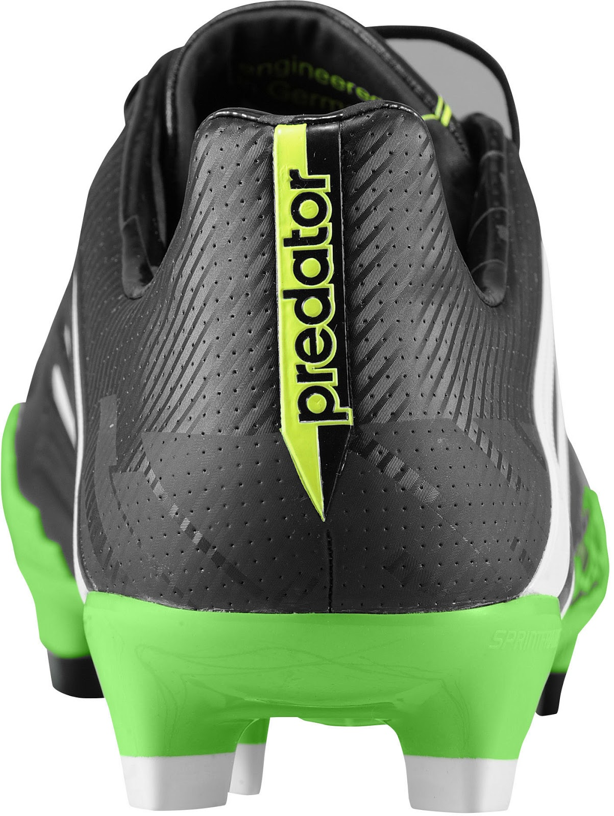 separation shoes 17feb 808bb Adidas today released the new Adidas Predator LZ II Boot in Black. The new adidas  Predator LZ II version is mainly black with green Lethal Zones.
