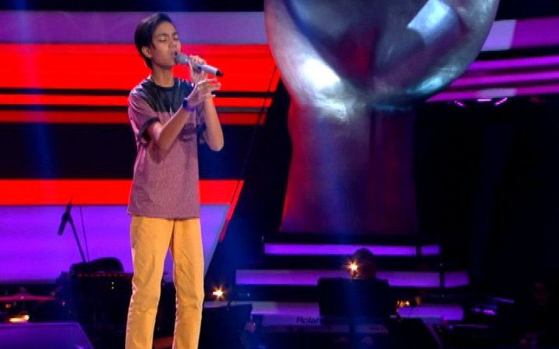 Download Mp3 Grenade - Christoper The Voice Kids Indonesia 2016