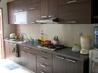 furniture interior semarang - kitchen set minibar 11
