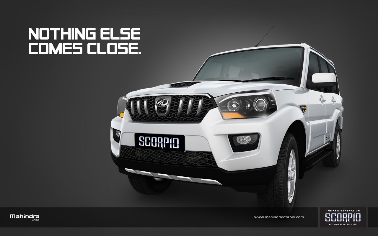 MAHINDRA SCORPIO CAR Full HD Wallpapers Background Images Photos And Pictures For Your Desktop Laptop AndroidSmartphone Chorebook Mobile