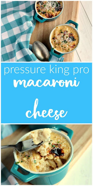 Pressure King Pro Macaroni Cheese