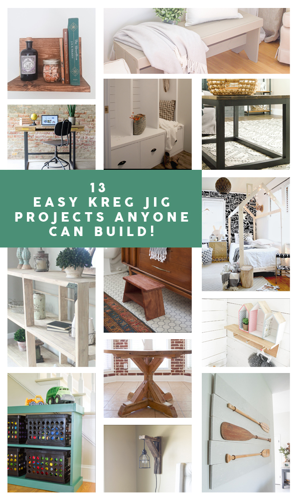 13 easy diy kreg jig projects