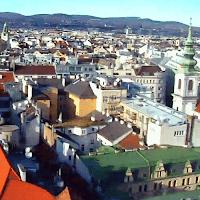 Blick über Wien zum Cobenzl und Kahlenberg