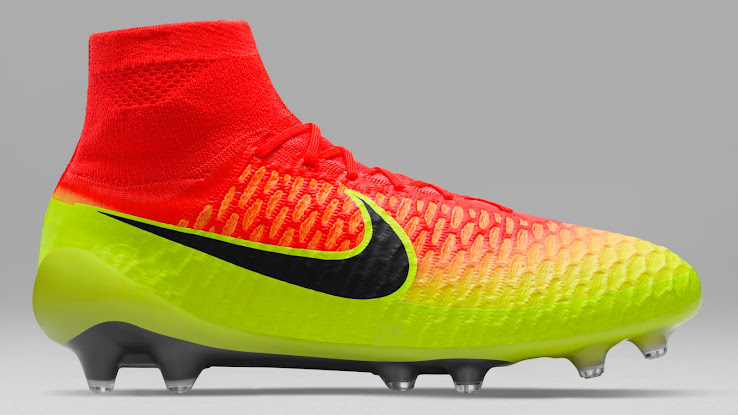 hot sale online e95a0 43ca9 discount the nike magista obra spark brilliance football boots introduce a  striking gradient look for the