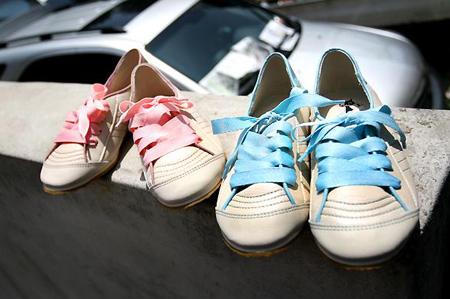 Chút lòe loẹt cho giầy độn đế sneaker8s