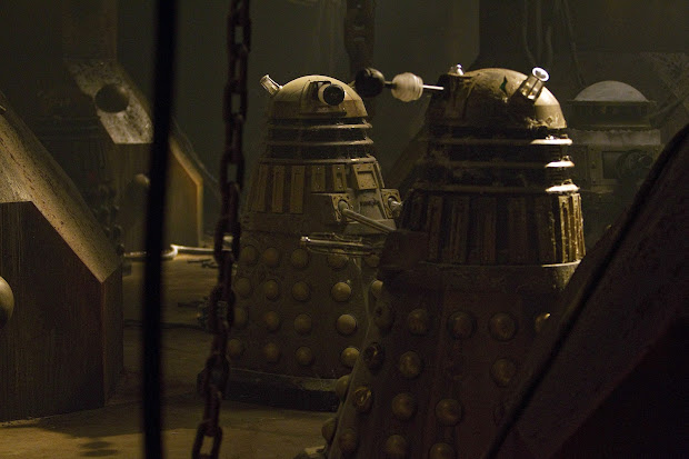 Asylum Of Daleks Promo Pics