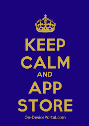 Keep Calm and App Store