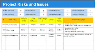 Risks and Issues
