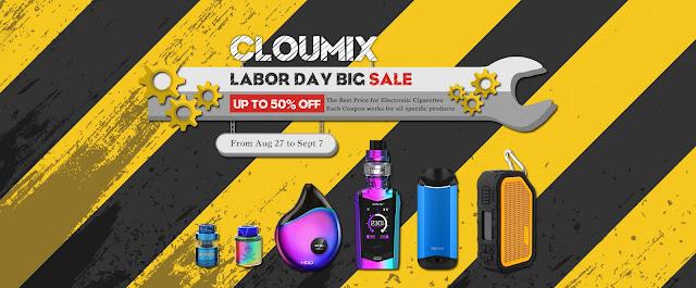 Up to 40% Off Vape Pod Kit AIO Starter Kit | Labor Day Sales- 2018