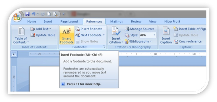Mengenal Dan Membuat Footnote Dan Endnote Catatan Kaki Pada