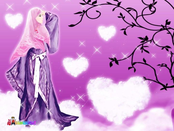Unduh 6200  Gambar Animasi Muslimah Berjilbab HD Free