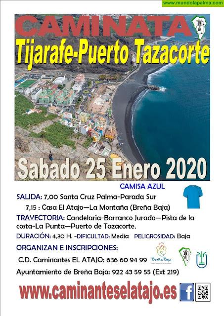 EL ATAJO: hasta el Puerto de Tazacorte