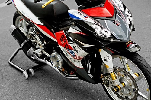 Modifikasi yamaha jupiter