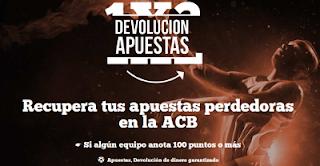paf recupera 50 euros apuestas perdedoras ACB 18-19 marzo