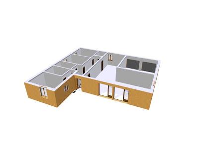 plan maison passive plain pied