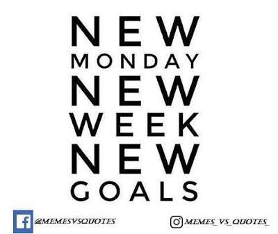 New Week, New Goal