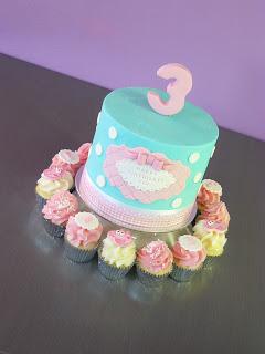 Peppa Pig cupcakes Brisbane