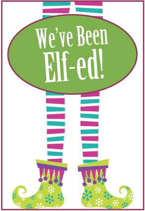 Brookie's Cookie Jar: You've Been Elf-ed