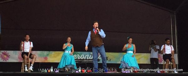 Justin Fletcher on the Gernostage at Geronimo