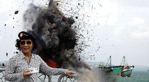Sikap PBNU soal Kebijakan Penenggelaman Kapal oleh Menteri Susi