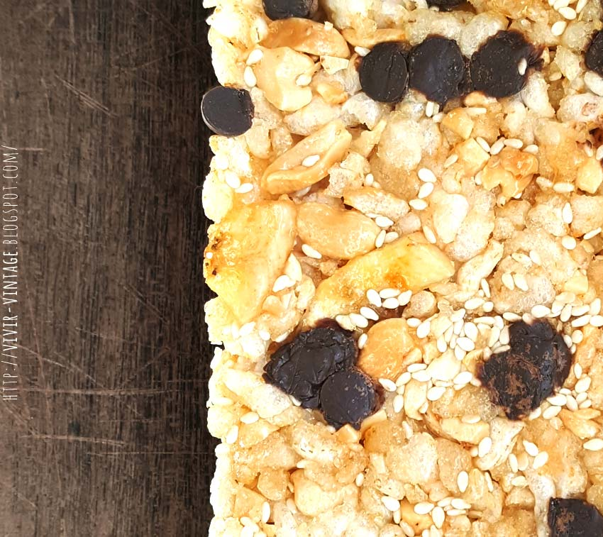 receta barrita cereal sin gluten