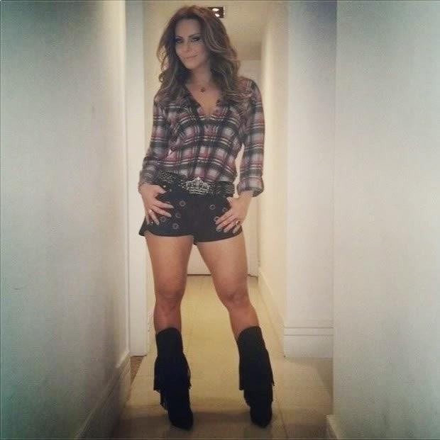 Viviane Araujo en Jeans