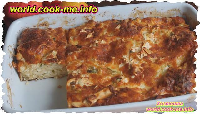 Видео рецепт приготовления пирога с сыром из лаваша