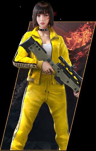 Gambar Semua Karakter Free Fire Png Transparan Versi Vn