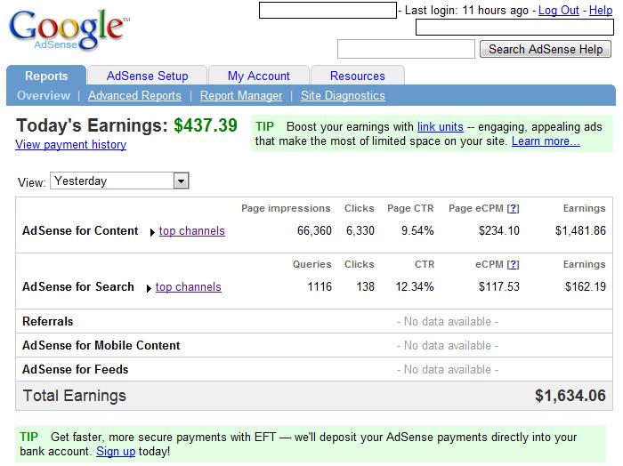 Cách kiếm tiền online với Google Adsense