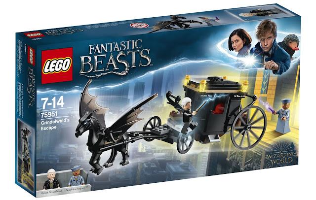 Conjunto LEGO revela como foi a fuga de Grindelwald | Ordem da Fênix Brasileira