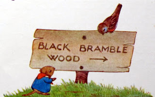 Black Bramble Wood by Mollie Kaye