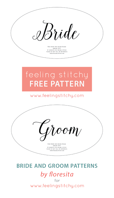 Free Bride and Groom pattern by floresita for Feeling Stitchy