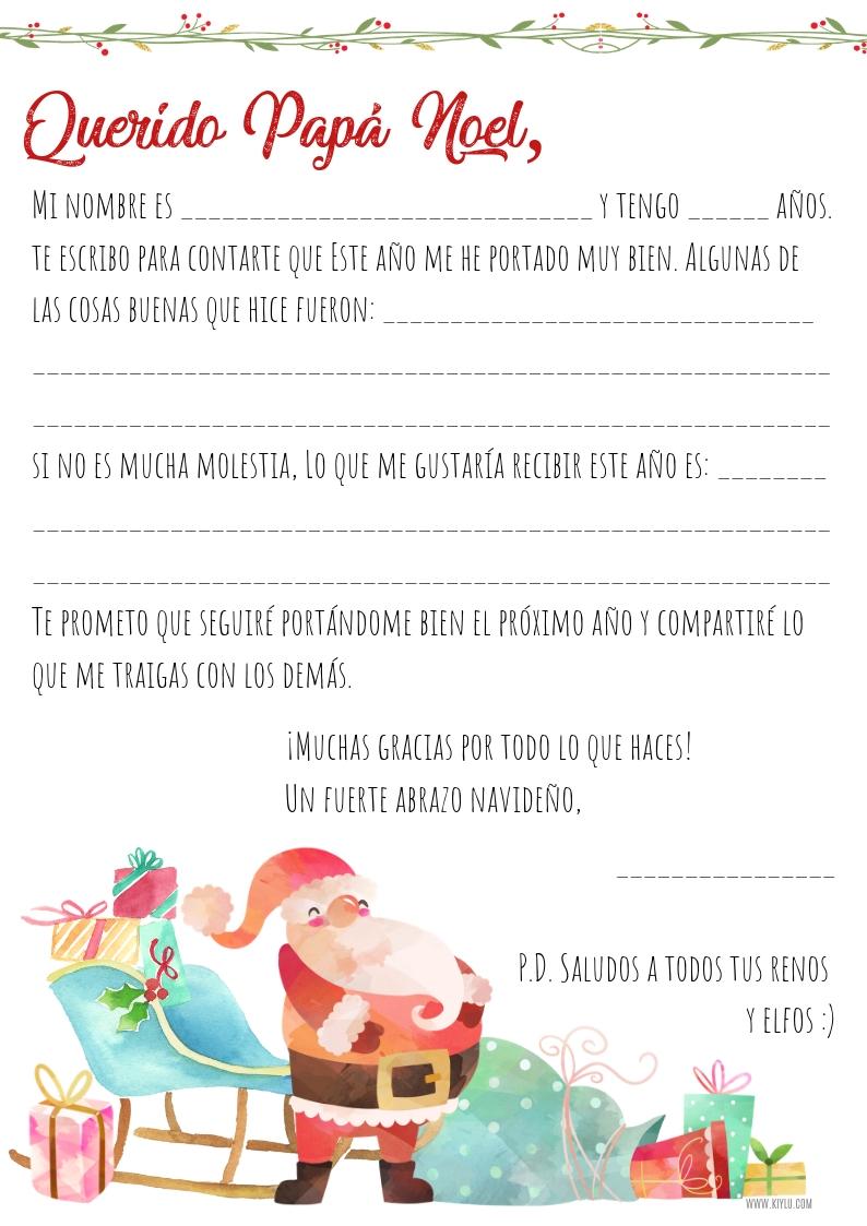 carta_papa_noel_santa_claus_imprimir_imprimible_gratis_descargar