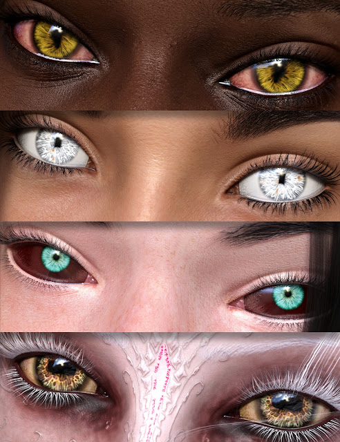 EYEdeas 4 for Genesis 3 Female and Male and Merchant Resource