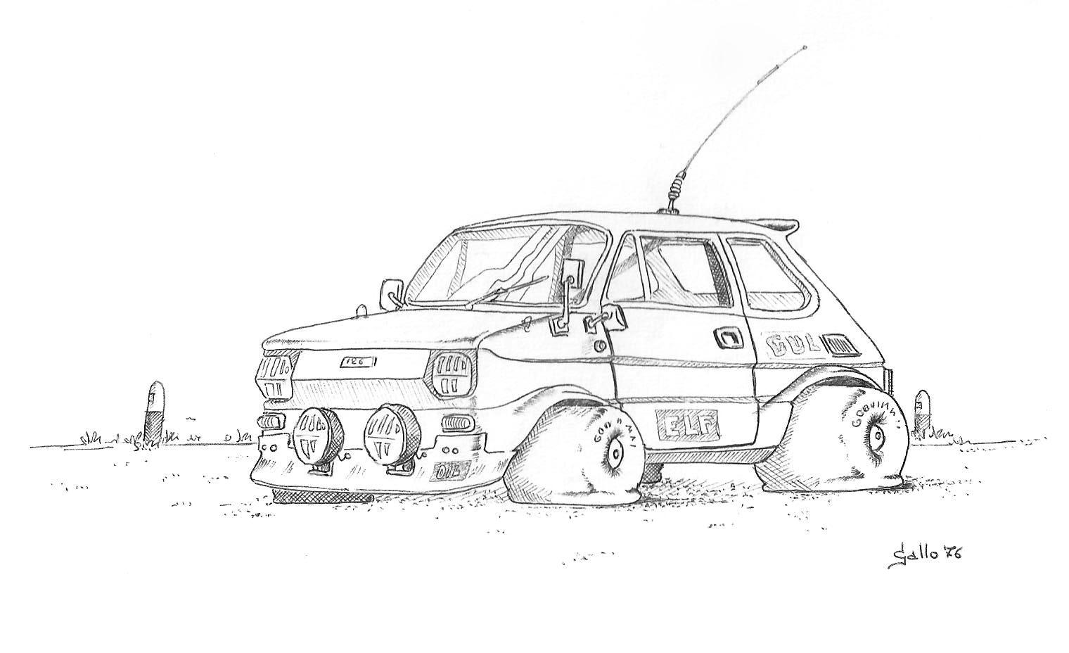 Disegnando: FIAT 126