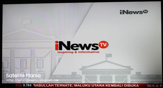 Frekuensi Terbaru untuk Channel iNewsTV di Palapa D dan SES 7
