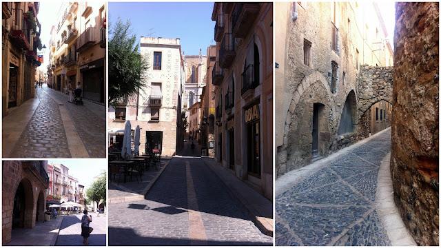 El pueblo de Montblanc medieval, Tarragona