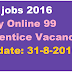 VMC jobs 2016 Apply Online 99 Apprentice Vacancies