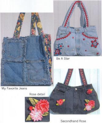Como hacer bolsos y carteras en jeans - Bolsos de tela hechos en casa ...