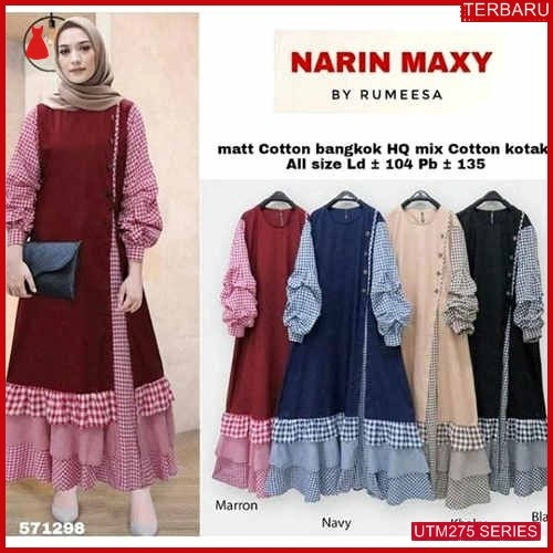 UTM275N91 Baju Narin Muslim Maxi UTM275N91 113 | Terbaru BMGShop