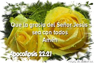 Apocalipsis 22:21