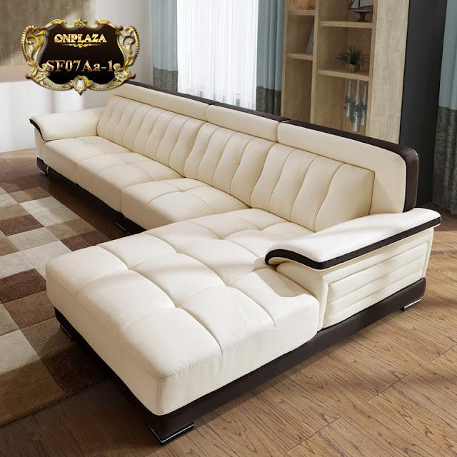 Ghế sofa đa năng hiện đại 3 băng góc phải cao cấp SF07.