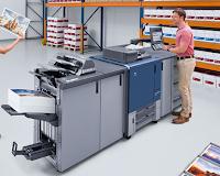 Die digitale Druckmaschine AccurioPress C2060 für fortschrittlichen digitalen Farbdruck verleiht jeder Produktionsdruckanwendung Leistung, Leistung und Einfachheit - bis zu 61 Seiten pro Minute Druck- / Kopierausgabe