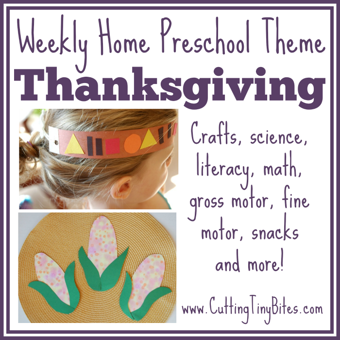 Crafts, snacks, fine motor, gross motor, science, writing activities, music, printables and more! Perfect amount of activities for one week of EASY homeschool preschool.
