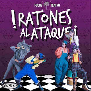 Ratones al ataque (Teatro en familia) 2