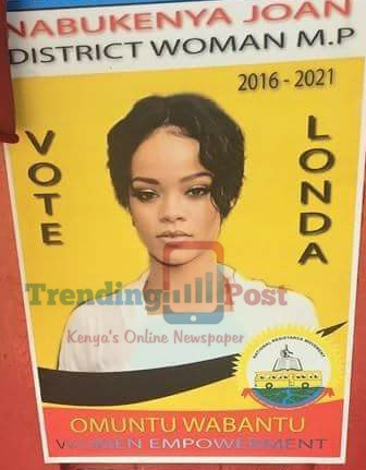 American Songstress- Rihanna Running For A Parliamentary Seat In Uganda (See Poster)