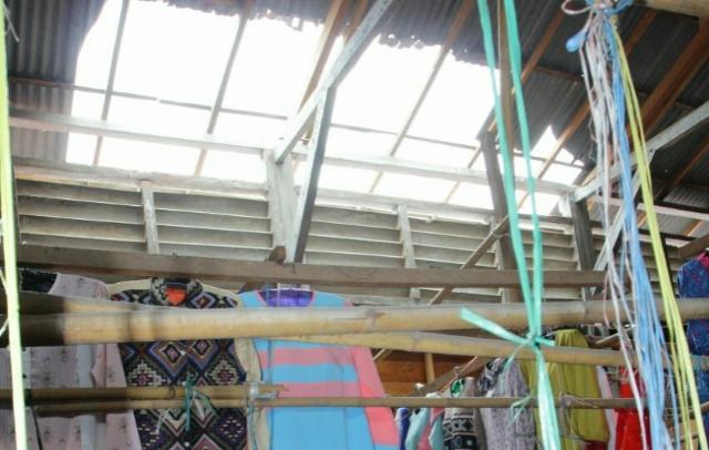 Kondisi Pasar Sentral di Soppeng Memprihatinkan, Atapnya Penuh Lubang